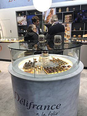 STAND DELIFRANCE PASTRY SIRHA TRADESHOW BAKERY INDUSTRIAL