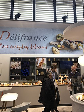 STAND DELIFRANCE SIRHA TRADESHOW BAKERY INDUSTRIAL